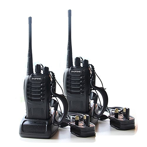 CDC® 2PCS Walkie Talkies 16CH Si...