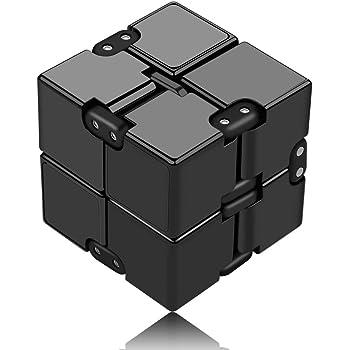 Infinity Cube Décompression Jouet Cube de l'infini, Nouveau stress de jouet de doigt de Fidget et soulagement d'inquiétude, tuant le temps Fidget joue le cube infini pour le personnel de bureau