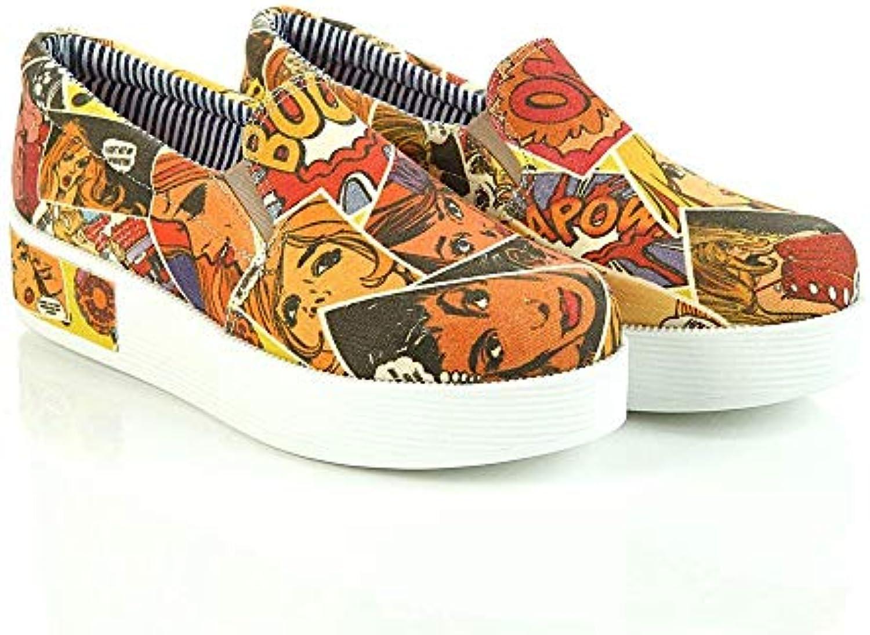 Pop Art Slip on scarpe da ginnastica ginnastica ginnastica scarpe VN4303 | Discount  b9e9f1