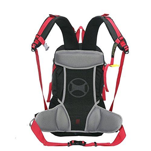 Neuer Im Freien Schulter Tasche Groß Kapazität Sport Rucksack Purple