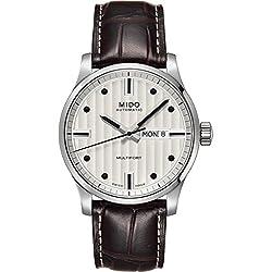 Mido M005.430.16.031.80 - Reloj de pulsera para Hombre, plata/negro