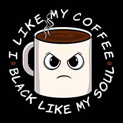 Cloud City 7 I Like My Coffee Black Like My Soul Women's Vest Black