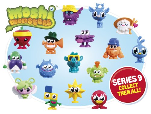 Image of Moshi Monsters Series 9 Moshi Blind Bags