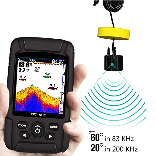 IMBM STYLE Portable Fish Finder 2,8