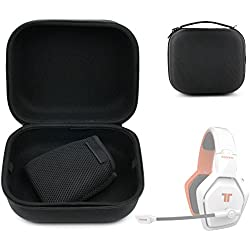 Etui coque noir pour Tritton Katana 7.1 , AX180 et 720+ Micro casque HD sans fil Gaming - taille XL