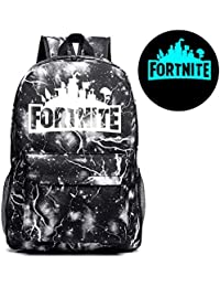 Luminous Backpack Unisex Sports Travel Schoolbag Glow In Dark For Kids Adults