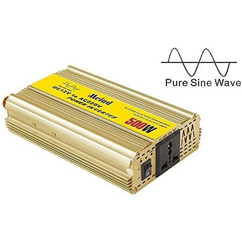 MEIND–Inversor de potencia 500W dc 12V a la CA 220V 230V 240V convertidor