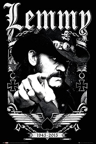 Close Up Motörhead Poster Lemmy 1945-2015 (61cm x 91,5cm) -