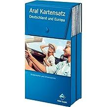 Aral Kartensatz: Deutschland und Europa (Aral Touristikprogramm)