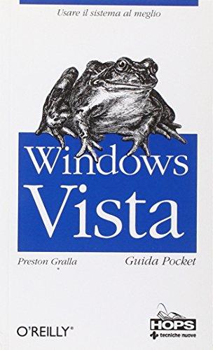 Windows Vista. Guida pocket por Preston Gralla