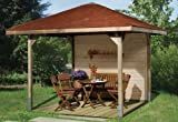 Weka Pavillon Gartenoase 651 Größe 2