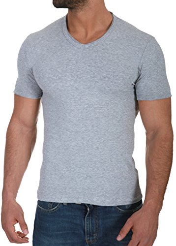 CRSM by Carisma Basic Herren T-Shirt der Marke Carisma Menswear Streetstyle Fashion 4066 Grey