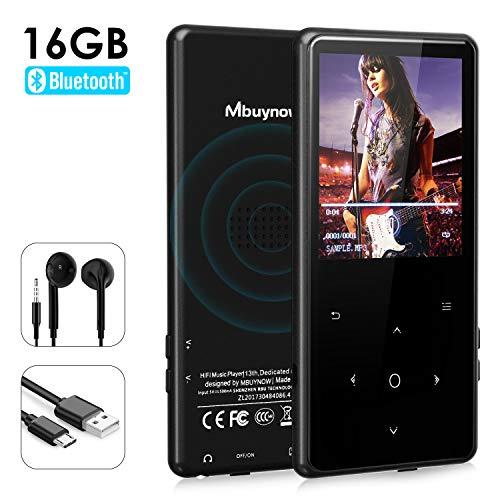 Mbuynow Lettore MP3 Musicale Digitale, HIFI Lettore MP3...