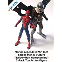 """Review: Marvel Legends 3.75"""" Inch Spider-Man & Vulture (Spider-Man Homecoming) 2-Pack Toy Action Figure"""