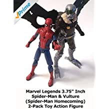 """Review: Marvel Legends 3.75"""" Inch Spider-Man & Vulture (Spider-Man Homecoming) 2-Pack Toy Action Figure [OV]"""