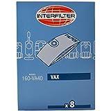 Interfilter Hoover Sac Pour Vax réservoir vide 4 par paquet