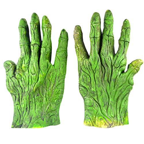 (Zoylink Halloween Handschuhe Neuheit Handschuhe Scary Kostüm Prop Handschuhe für Party)