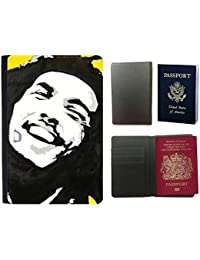 Passeport Voyage Couverture Protector // V00001928 Bob Marley // Universal passport leather cover