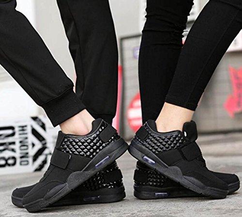 Primavera Scarpe Coppia Versione Coreana Traspirante Scarpe Sportive Maschi Studenti Scarpe Selvagge Scarpe Casual Black