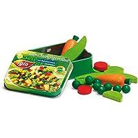 Erzi Pretend Play Wooden Grocery Shop Merchandize Vegetables Iglo in a Tin