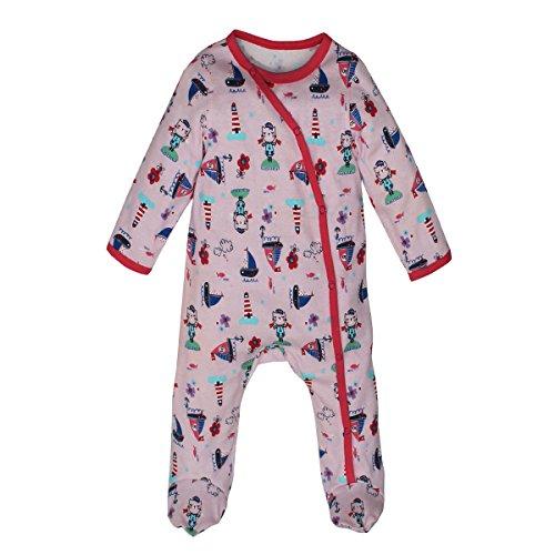 Kadambaby- Cute Doodle baby body suit /footed romper /Newborn sleepsuit / onesies for baby boy/ Premium baby sleepwear (0-3 Months)