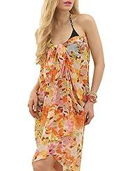 Ninimour Europäische und amerikanische Mode heißen Bohren Strandkleid,Kleid Urlaub,Beachwear (petite, XX570W)