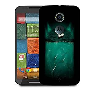 Snoogg Bed On Water Designer Protective Back Case Cover For Motorola Moto X2