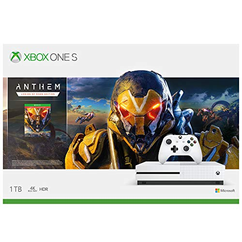 Microsoft 1 TB Xbox One S Console - Anthem Bundle