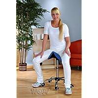 Sgabello Pedicure Manicure Lettino Massaggio Blu