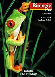 Biologie plus - Gymnasium Sachsen-Anhalt: Biologie plus, Arbeitsheft, Ausgabe Förderstufe Sachsen-Anhalt