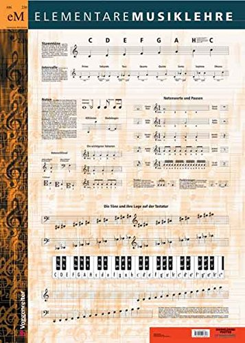 Musiklehre Poster