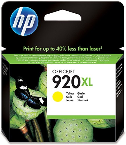 Preisvergleich Produktbild HP 920XL Gelb Original Druckerpatrone mit hoher Reichweite für HP Officejet