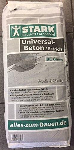 Universal-Beton / Beton-Estrich / Trockenfertigbeton, 30 KG