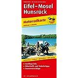 Eifel - Mosel - Hunsrück: Motorradkarte mit Ausflugszielen, Einkehr- & Freizeittipps und Tourenvorschlägen, wetterfest, reissfest, abwischbar, GPS-genau. 1:200000