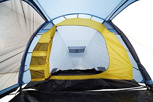 Grand Canyon Annapolis 3 – Campingzelt (3-Personen-Zelt), blau/schwarz, 302203 - 6