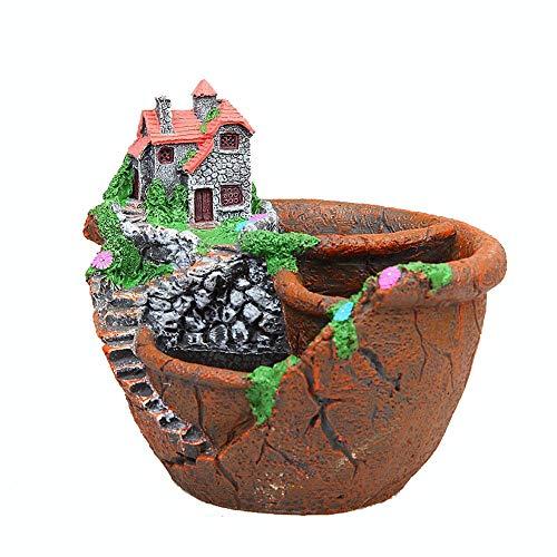 hlw sports-folwer vasi di fiori per la casa contenitore di vasi di fiori succulente per la casa e l'ufficio decor regalo di benvenuto di natale di nozze per il giardino cortile balcone