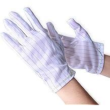1 par de la raya Aituo anti-estática guantes para Ordenador/electrónica // guantes de trabajo de reparación segura XL