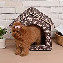 Easy Go Shopping Four Seasons Disponible Casa para Mascotas Desmontable Modelo de celosía Dedicada Kennel Cat