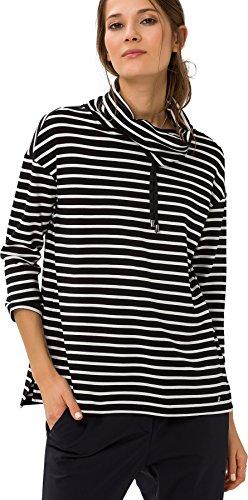 ... BRAX FEEL GOOD Bonnie - Damensweatshirt Black