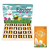 #5: BOGATCHI Happy Easter Chocolates, Easter Eggs and Chocolates for Easter Celebrations, 24 pieces + FREE - HAPPY EASTER Greeting Card