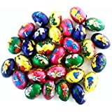 30 x Individual Mini Foiled Easter Bunnies Eggs - Milk Chocolate 5g