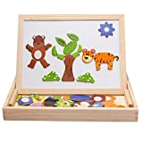 #7: AZi Magnetic Board Games Animal Puzzle Wooden Educational Drawing Board Toys Games D