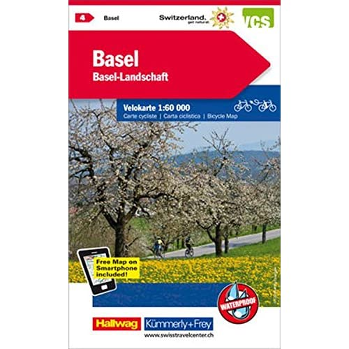 Basel / Aarau 4 K&f (R) Cycle Map Wp Gps