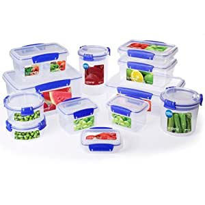 Sistema Food Storage 12 Piece Set Amazoncouk Kitchen