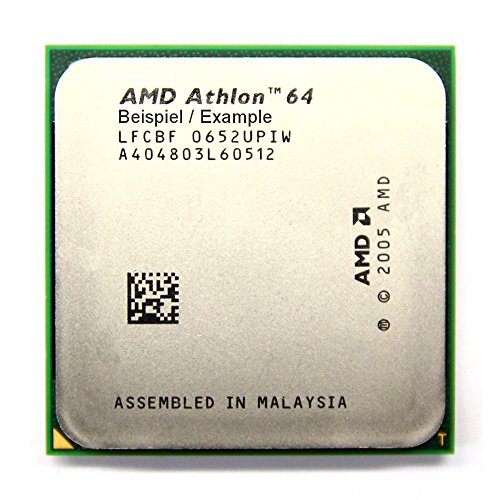 AMD Athlon 64 3200+ 2GHz/512KB ADA3200IAA4CN Sockel/Socket AM2 Desktop-CPU (Zertifiziert und Generalüberholt) (Cpu-desktop-refurbished)