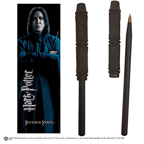 Noble Collection Snape Wand Pen and Bookmark (Harry Potter Professor Snape)