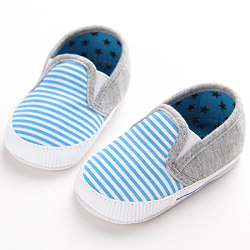 Fogo Sapo Bebê Sapatos Mocassim, Jovens Sapatos Walker Azul