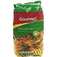 Gourmet Macarrones Tricolor , Pasta Alimenticia Compuesta - 500 g