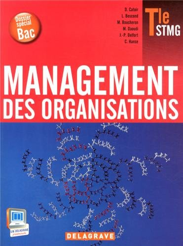 Management des organisations Tle STMG