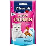 VITAKRAFT Crispy Crunch Cœur Saumon Friandise pour Chat 60 g